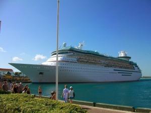 Muelle en las Bahamas
