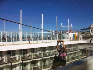 Zipline Oasis of the Seas