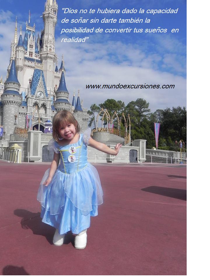 Mensajes de viajeros sueños Disney