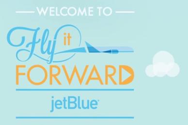 Jet Blue inspitra a hacer el bien a través de sus viajes.