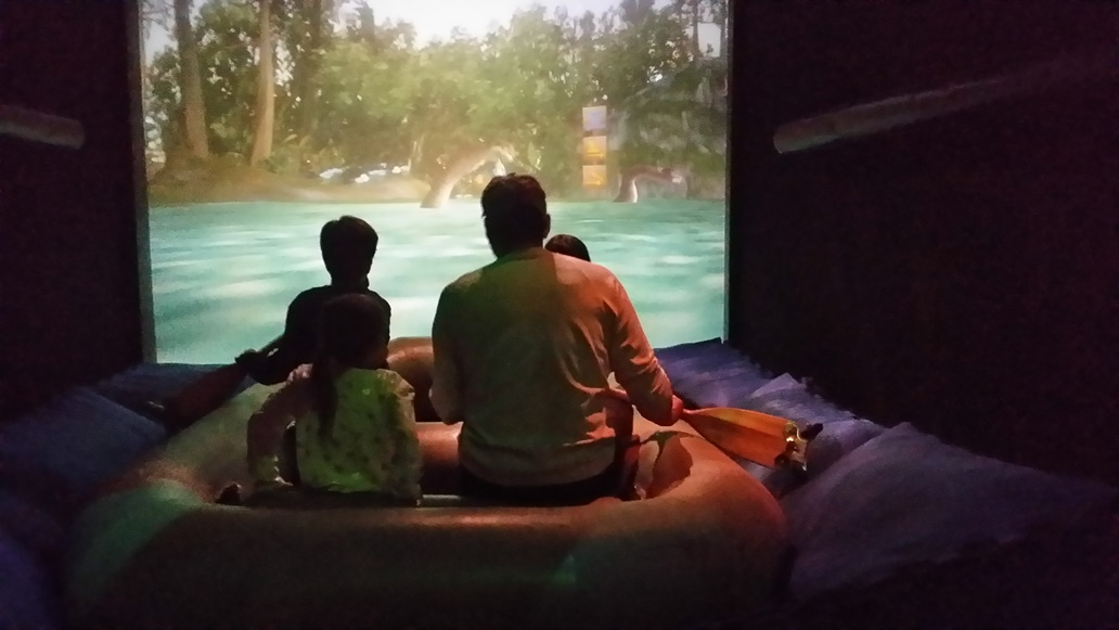 Virtual Jungle Cruise en Disney Quest