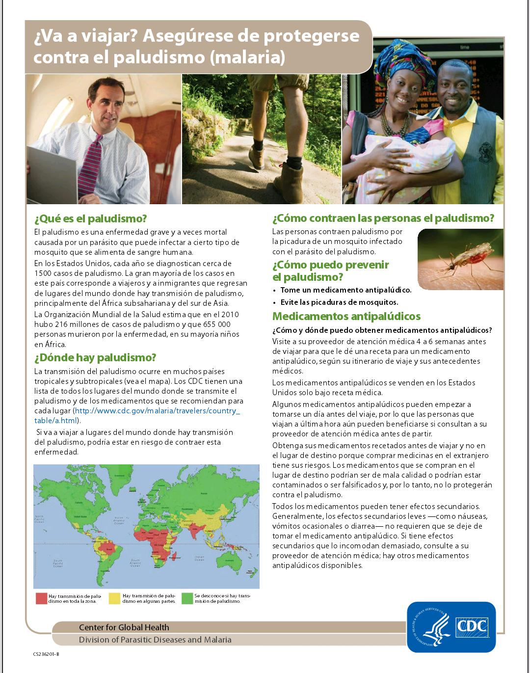 Info sobre malaria 1