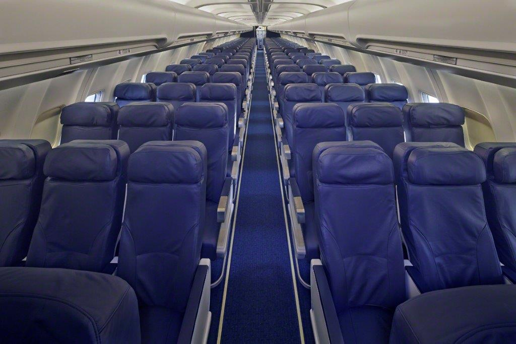 Asientos avion charter