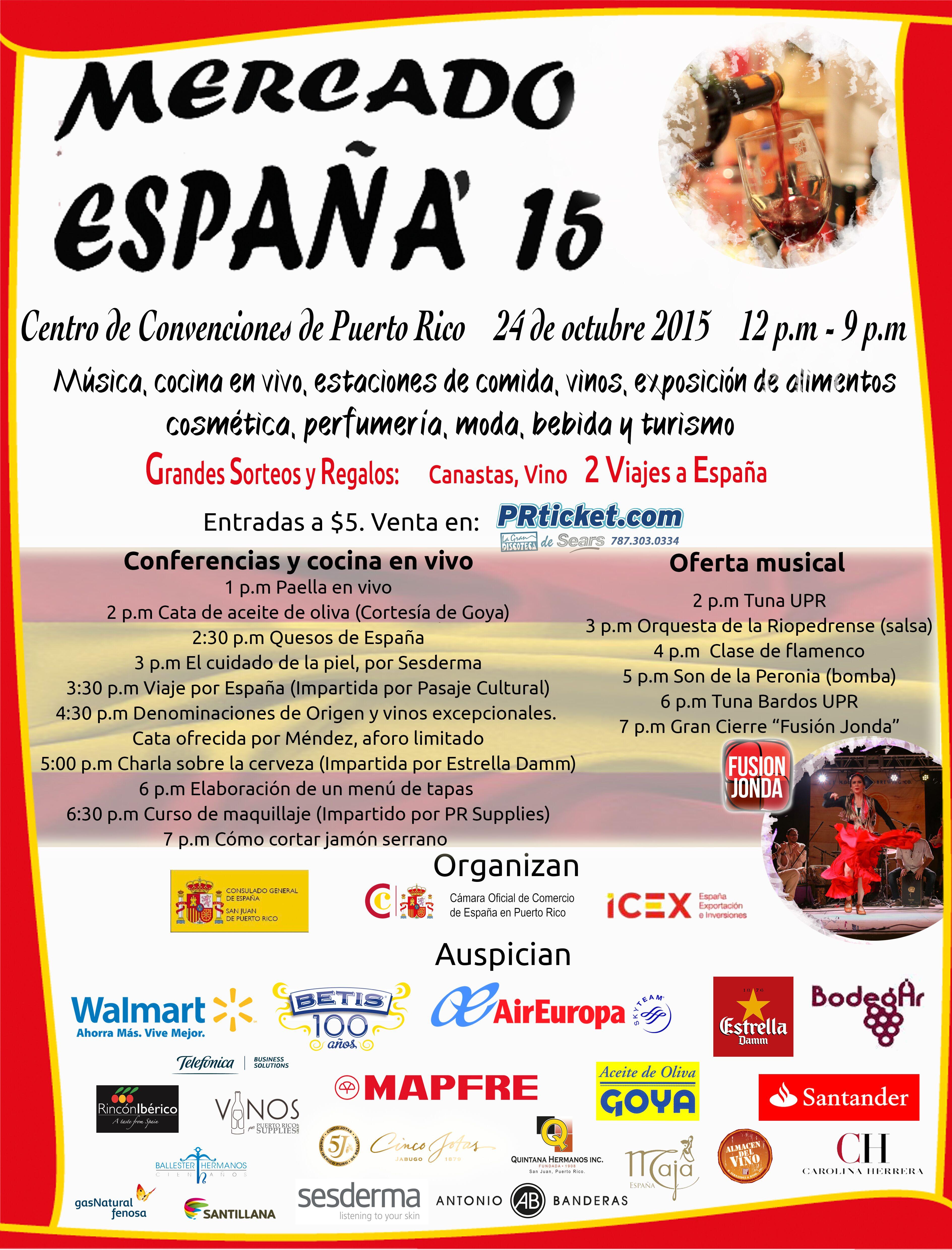 Mercado España flyer