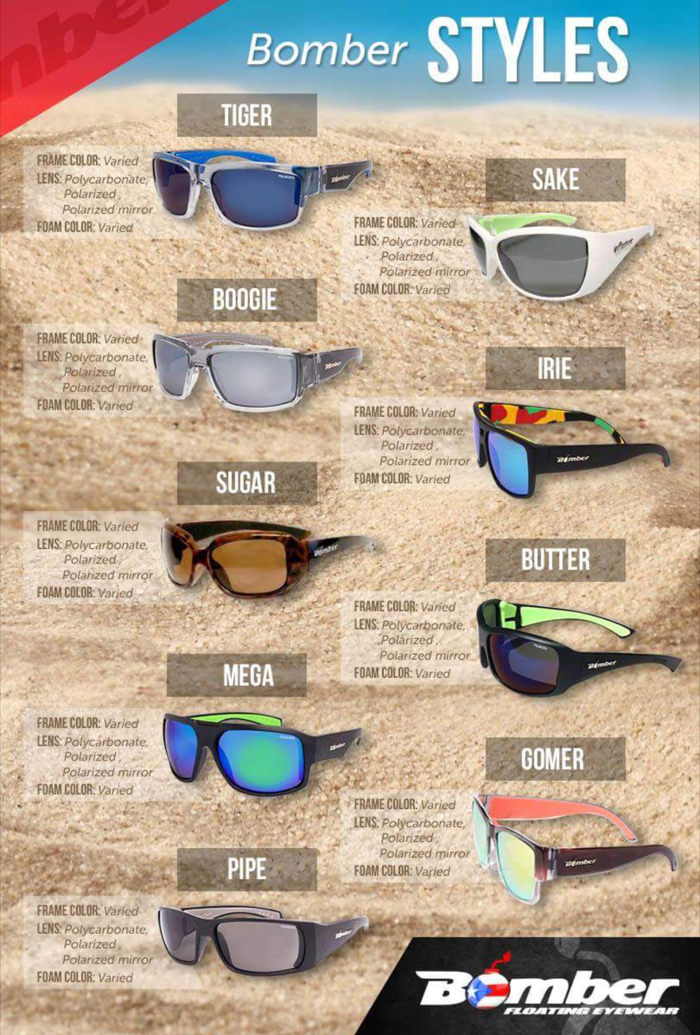 Bomber  floating eyewear